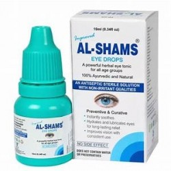 Аюрведические Глазные капли AL-SHAMS Eye Drops Satya Pharma Pvt Ltd 10ml India