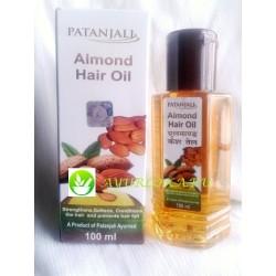Almond Hair Oil Patanjali 100ml Миндальное масло для волос патанджали Индия 100мл
