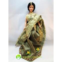 Принцесса Барби в золотом сари из Индии / Indian Barbie Princess