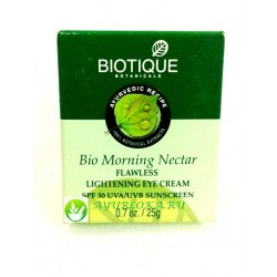 Bio Morning Nectar Lightening Eye Cream Biotique