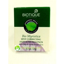 Bio Myristica Spot Anti-Acne face Pack Biotique