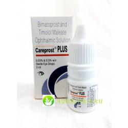 Карепрост Плюс средство для роста ресниц - Careprost Plus 3ml