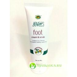 Крем скраб для ног-Foot Cream & Scrub Jojoba & Sesame Jovees