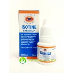 Айзотин глазные капли - Isotin Eye Drops 10 ml
