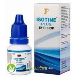 Айзотин Плюс глазные капли 10 мл (Isotine Plus Eye drops Jagat Pharma)