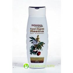 Kesh Kanti Reetha Hair Cleanser Patanjali 200ml/Ритха Натураль Шампунь Патанджали 200мл