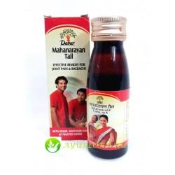 Маханараян массажное масло(от боли)-Mahanarayan Tailam Dabur 100 ml