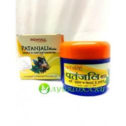 Бальзам 'при просуде и головной боли' Патанджали / Patanajali Balm 25 gr