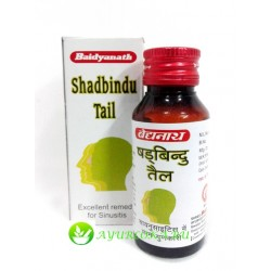 Масло Шадбинду-Shadbindu Tail Nasal Drop Baidyanath 50 ml