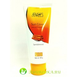 Защита от Солнца- SPF 30 Джовис / Sun Cover Cream  Sandalwood SPF30 Jovees 100gr