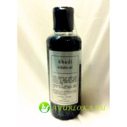 ТРИФАЛА масло для волос Кхади / Triphala hair Oil Khadi 210 ml