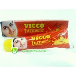 "Vicco Tumeric Sandal Cream-крем с ""Сандалом и Куркумой"" Викко 15gr"
