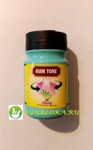 Gum tone charak аюрведический зубной порошок