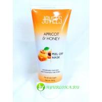 Маска-Пленка для Лица-Apricot & Honey Peel off Mask Jovees