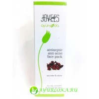 Маска против прыщей-Antiseptic Anti Acne Face Pack Jovees