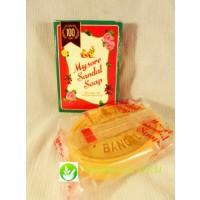 Натуральное сандаловое мыло из Индии Mysore Sandal Soap 75g
