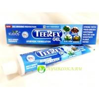 """Зубной гель """"Тирекс"""" Кудос / TeeRex Gel Tooth Paste Kudos 100gr"""