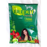 Хна для волос Нупур - Nupur Henna 9Herbs Godrej 130gr