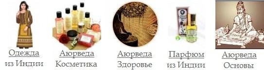 Каталог продукции сайта AYURLOKA.RU