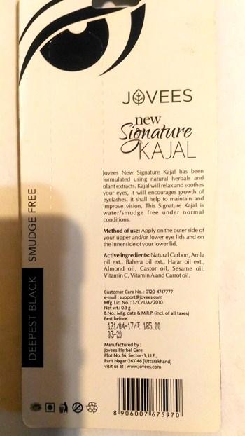 """Soft Kajal """"Signature"""" Jovees"""