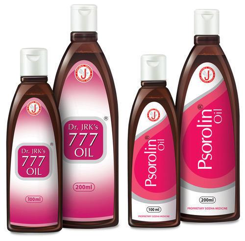 Масло для лечения псориаза Dr. JRK's 777 oil